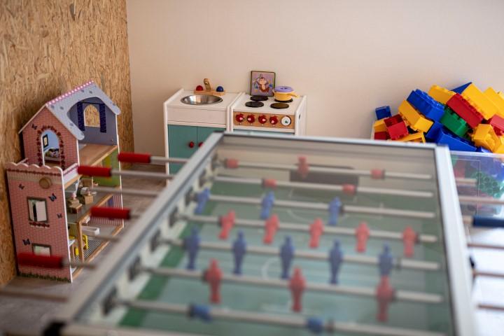 Groepsaccommodatie met kindvriendelijke speelruimte